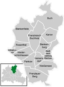 Район Панков (Pankow) в Берлине