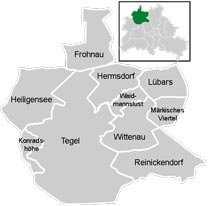 Район Райниккендорф (Reinickendorf) в Берлине