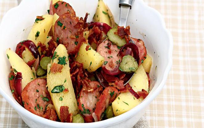 Известные салаты немецкой кухни