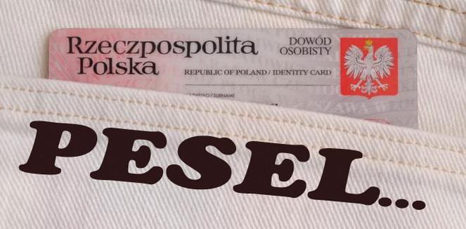 Номер Pesel в Польше