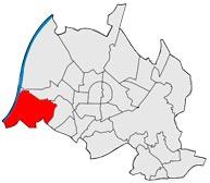 Район Даксланден в Карлсруэ