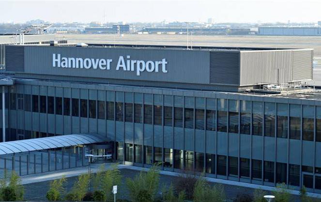 Аэропорт международного значения в Ганновере