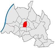 Район Инненштадт-Вест в Карлсруэ
