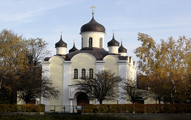 Церковь воскресения аuferstehungskirche