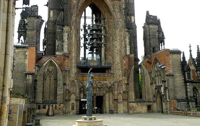 Церковь святого николая в гамбурге