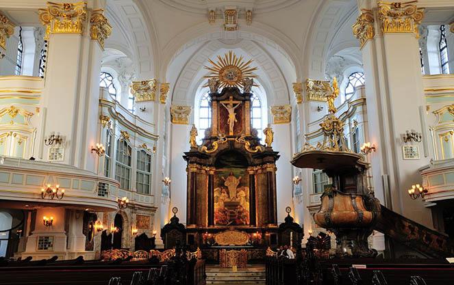 Церковь святого матфея в гамбурге