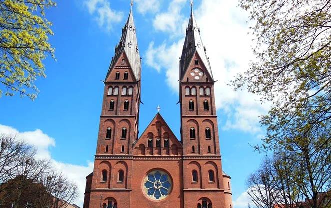 Церковь святой марии в гамбурге