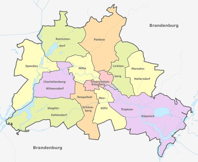Административно-территориальное устройство Берлина