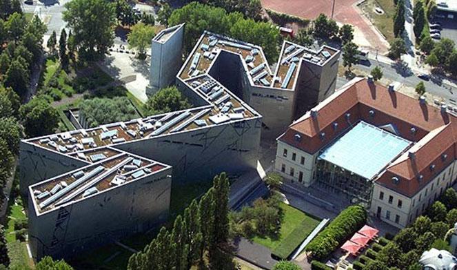 Еврейский музей с птичего полета