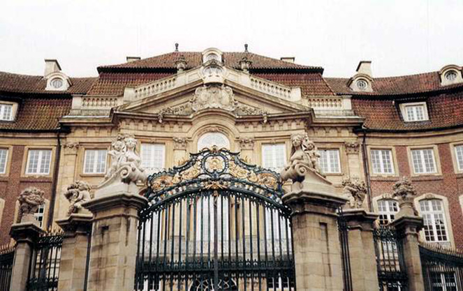 Архитектура мюнстерского замка