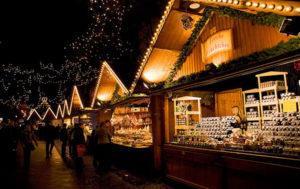 Предрождественская торговля в мюнхене