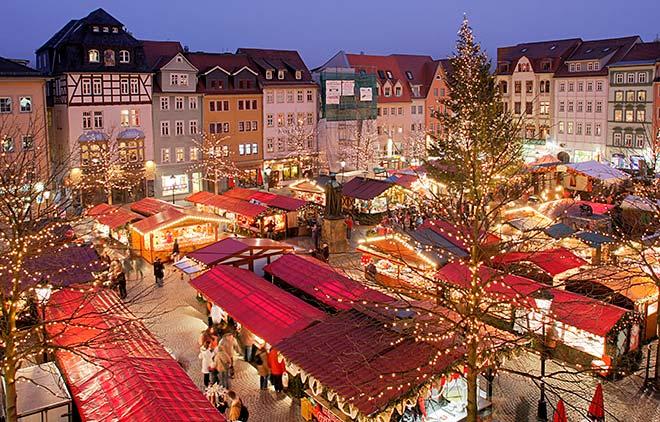 Рождественская ярмарка в Йене