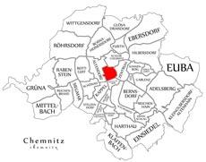 Район Кассберг в Хемнице
