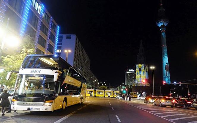 Транспорт во время фестиваля в Берлине
