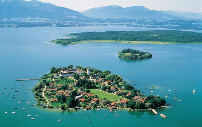 Достопримечательности озера кимзее