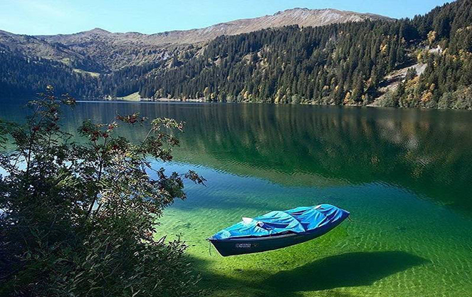 Отдых на озере кимзее