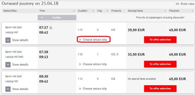 Покупка билета на поезд в Германии-5