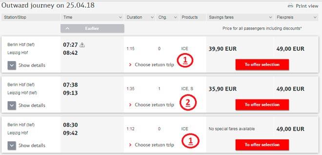 Покупка билета на поезд в Германии-2