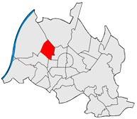 Район Нордвестштадт в Карлсруэ