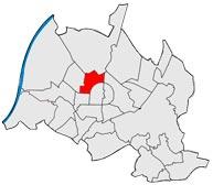 Район Нордштадт в Карлсруэ