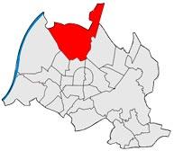 Район Нойройт в Карлсруэ
