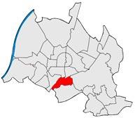 Районы Вайерфельд-Даммершток в Карлсруэ