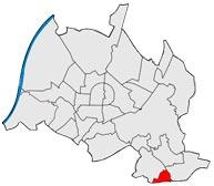 Район Palmbach в Карлсруэ