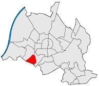 Район Оберройт в Карлсруэ