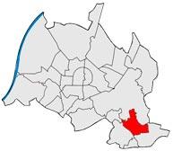 Район Hohenwettersbach в Карлсруэ