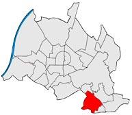 Район Grünwettersbach в Карлсруэ