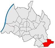 Район Stupferich в Карлсруэ