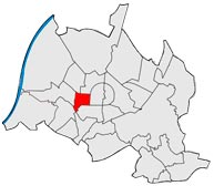 Район Вестштадт в Карлсруэ