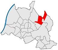 Район Хагсфельд в Карлсруэ