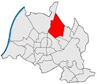 Район Вальдштадт в Карлсруэ