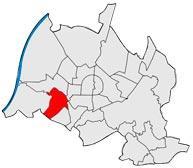 Район Грюнвинкель в Карлсруэ