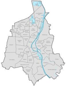 Административное деление Магдебурга