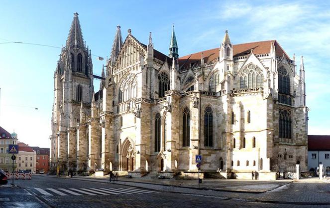 Внешний вид регенсбургского собора