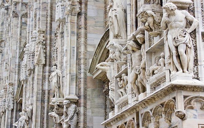 Детали архитектуры собора