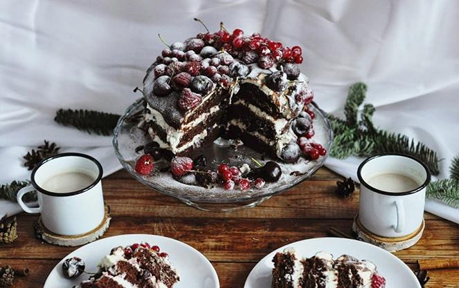 Немецкий торт черный лес