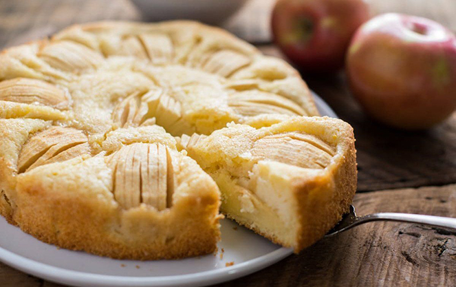 Немецкий яблочный торт