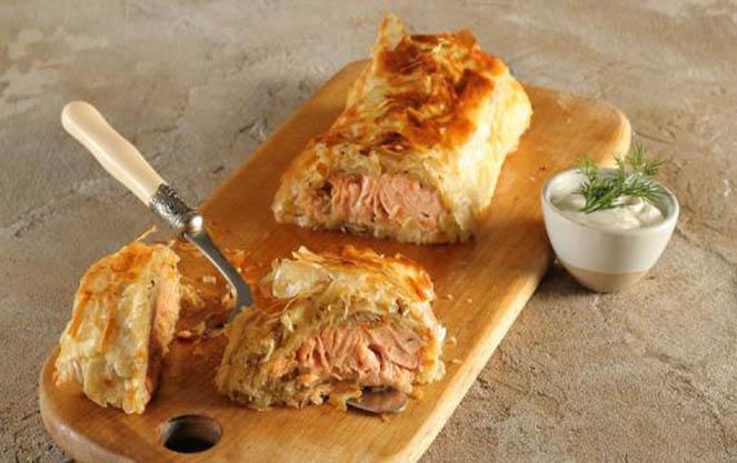 Немецкий штрудель со свининой капустой картофелем