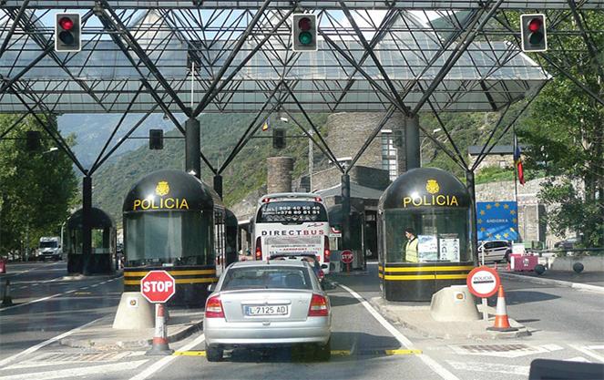 Въезд на автомобиле в германию