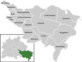 Район Трептов-Кёпеник (Treptow-Kopenick) в Берлине