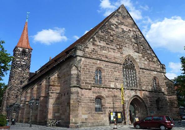 Церковь святого якова в нюрнберге