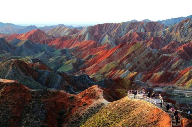 Ландшафт Дэнксия, Китай