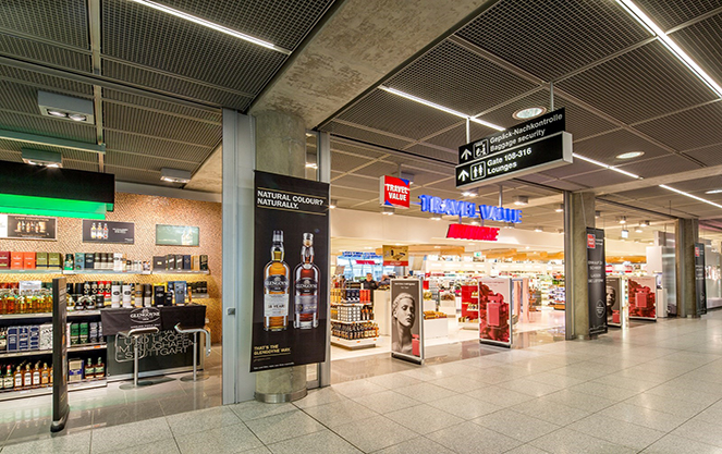Аэропорт Штутгарта внутри