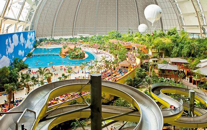 Отдых в аквапарке Берлина