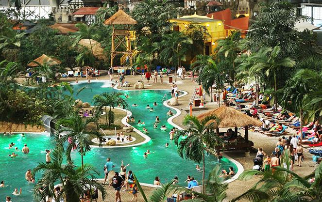 аквапарки Германии