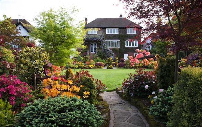 Архитектура английского сада