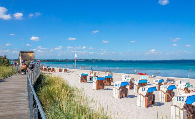 Морское побережье Германии